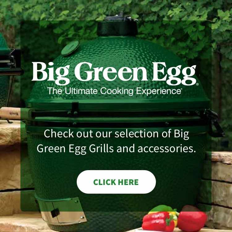 More about Big Green Egg grills at Wagoner Lumber