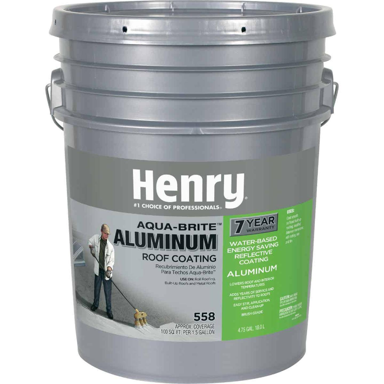 Henry Aqua-Brite 5 Gal. Fibered Aluminum Roof Coating Image 1