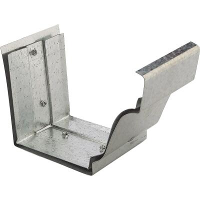 NorWesco 4 In. Galvanized Slip-Joint Gutter Connector