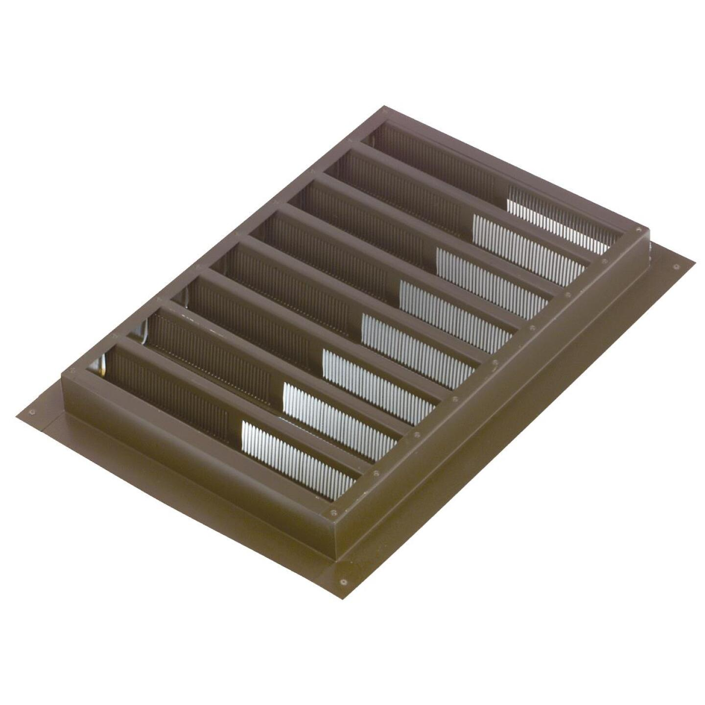 "NorWesco 12"" x 12"" Square Brown Gable Attic Vent Image 1"