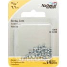 National #217-1/2 Zinc Small Screw Eye (14 Ct.) Image 2