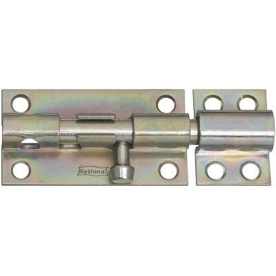 National 4 In. Zinc Heavy Barrel Bolt
