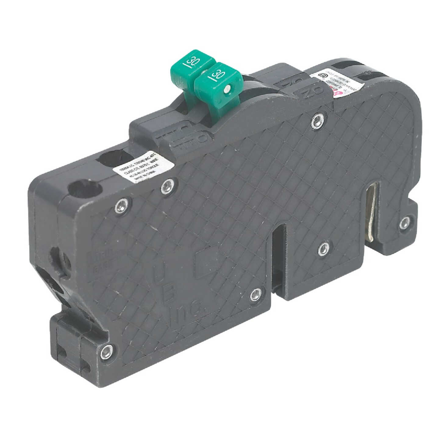 Connecticut Electric 20A/20A Twin Single-Pole Standard Trip Packaged Replacement Circuit Breaker For Zinsco Image 1