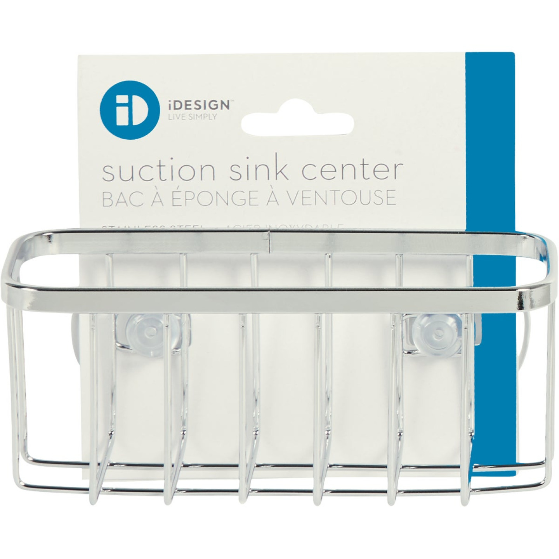 InterDesign Sinkworks Suction Sink Center Sponge Holder Image 2