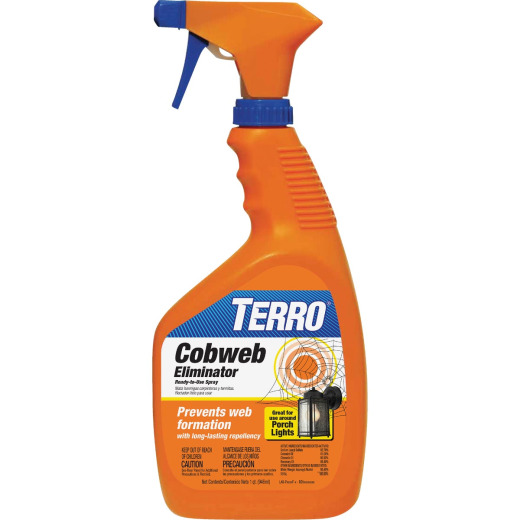 Terro 32 Oz. Trigger Spray Cobweb Eliminator