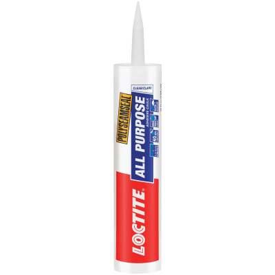 LOCTITE POLYSEAMSEAL 10 Oz. Clear Adhesive Caulk