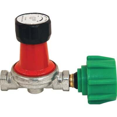 Bayou Classic 1/4 In. x 1/4 In. Steel Adjustable Gas Regulator